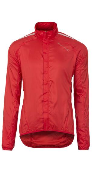 Endura Pakajak Jacket with stuff sack red